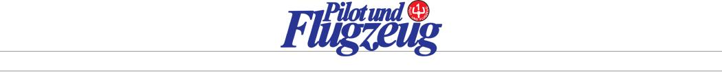 Pilot und Flugzeug Sept 2019